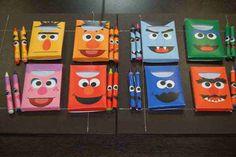 Items similar to Full Set of 8 Personalized printable crayon box & matching crayon wraps on Etsy Elmo Birthday, Third Birthday, First Birthday Parties, Birthday Party Decorations, First Birthdays, Party Favors, Birthday Ideas, Sesame Street Cupcakes, Sesame Street Party