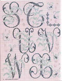 Bordados da Lu: Monograma