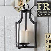 Wall Candle Lantern Z