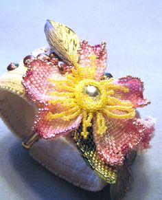 Spring is in the air beaded by Sharon A. Kyser