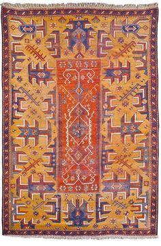 Antique CENTRAL ANATOLIAN rug.  (Sotheby's, 2014).