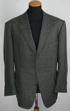 Eduard Dressler Men's Wool gr. 29 58S (48S UK). Single breasted 2 buttons Blazer, double vented. Cloth: 95% wool 5% cashmere. | eBay!