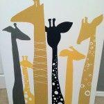 Giraffe Nursery. LOVE.