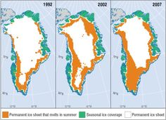 Greenland's Melting Ice and Permafrost