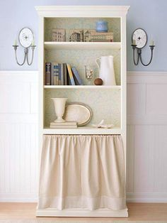 thinking of doing something like this to use a bookshelf to hold my clothes