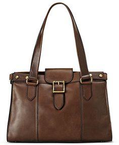Fossil Handbags, Vintage Revival East West Satchel - Fossil - Handbags & Accessories - Macy's