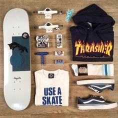 Thrasher flame is back in stock Skateboard Outfits, Skateboard Fashion, Skateboard Design, Skateboard Girl, Skateboard Clothing, Vans Outfit Girls, Skater Girl Outfits, Emo Outfits, Disney Outfits