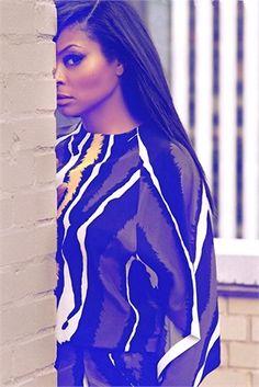 Taraji P. Henson poses for Italian Vogue....so beautiful!