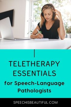 Essential Teletherapy tools for SLPS - I call this post teletherapy essentials but I survived 4 years without them. But it's good to know the tools that are available to make your life easier conducting teletherapy speech therapy sessions. Watch the video to find out. | Speech is Beautiful