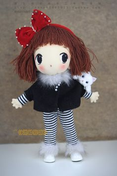 Идеи для шитья текстильной куклы тряпиенса. Идеи для создания куклы тряпиенса