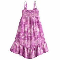 Mudd Tie-Dye Convertible Maxi Dress - Girls 4-6x