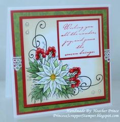 FS182 - Joy & Peace by Princessheather - Cards and Paper Crafts at Splitcoaststampers