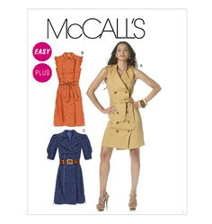 four square walls: the 9-to-5 trench dress