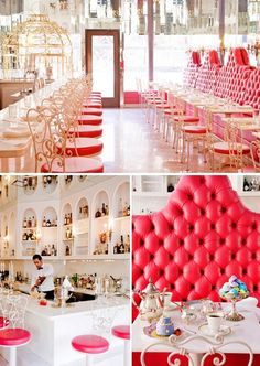 Sweetiepie Restaurant, NYC - A little too girly for my space but seriously...how cute is this!