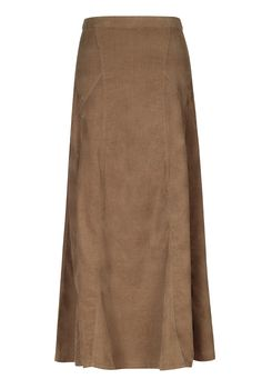 Cord Maxi Spiral Skirt (Long Tall Sally)