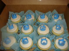 Prince cupcakes