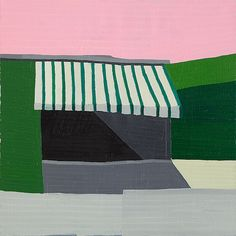Painting by Guy Yanai