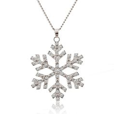 GET $50 NOW | Join RoseGal: Get YOUR $50 NOW!http://www.rosegal.com/sweater-chains/christmas-snowflake-pendant-sweater-chain-931753.html?seid=7706795rg931753