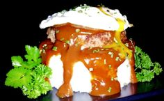 """Mike's Crazy Easy Loco Moco! """"A Hawaiian staple for sure! ~ Definitely a man's meal!""""  @allthecooks #recipe"""