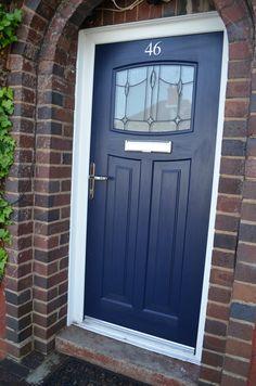 Rockdoor Newark Lantern Fitted In Birmingham UK Verysecuredoors Door Paint ColorsComposite Front