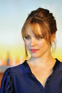 Hair: Fringes and Messy Updos, Rachel McAdams Style