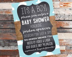 Baby Boy Shower Invitation https://www.etsy.com/listing/260442228/baby-shower-invitation-baby-boy-invite?ref=shop_home_active_13