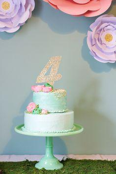 Enchanted Fairy Garden: Clara's Fourth Birthday