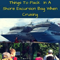 You are cruising for your vacation and now you have committed to getting off the Cruise Ship and heading out onto dry land, how will you spend your day? Will you be shopping or touring or going on …