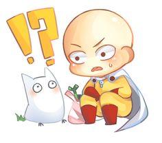One Punch Man - Saitama and Totoro! One Punch Man 3, One Punch Man Funny, Saitama One Punch Man, One Punch Man Anime, Anime One, Anime Manga, Genos X Saitama, Caillou, Final Fantasy Xv