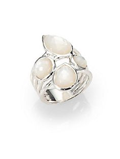 IPPOLITA - Four-Stone Mother-of-Pearl and Sterling Silver Ring