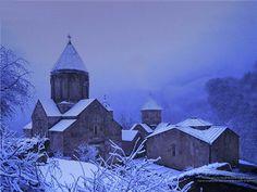 Armenia in winter