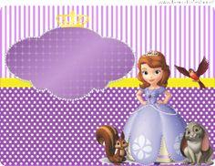 kit princesa sophia marmita