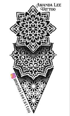 Geometric Mandala Tattoo, Mandala Sleeve, Geometric Tattoo Design, Mandala Tattoo Design, Mandala Dots, Mandala Drawing, Tattoo Designs, Flower Cover Up Tattoos, Cover Tattoo