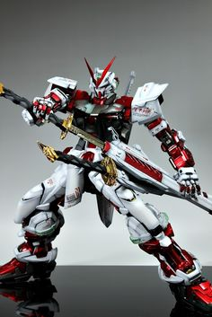 GUNDAM GUY: PG 1/60 MBF-PO2 Gundam Astray Red Frame - Painted Build