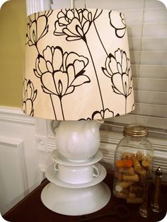 Teacup Lamp Tutorial - Dream Book Design