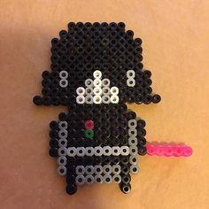 Darth Vader - Star Wars hama beads by dasnuf
