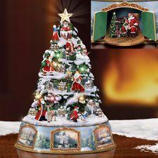 Thomas kinkade christmas music box