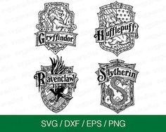 This item is unavailable Harry Potter Free, Images Harry Potter, Theme Harry Potter, Harry Potter Houses, Vinyl Crafts, Vinyl Projects, Cricut Tutorials, Cricut Ideas, Harry Potter Silhouette