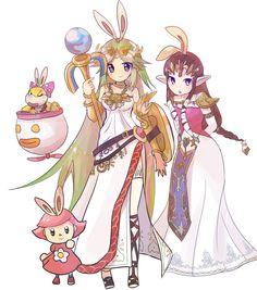 Smash girls bunny hood ~ #Zelda #Palutena #SmashBros4