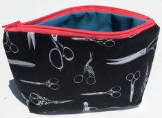 Scissors Cosmetic Bag