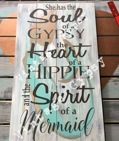 To order your very own mermaid sign go to https://haberdashery73.com/collections/home-decor/products/mermaid-soul