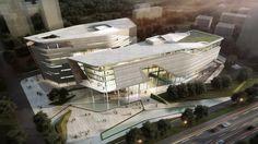 10 DESIGN Xiangzhou Cultural Center, Zhuhai, 2012 - 10 DESIGN
