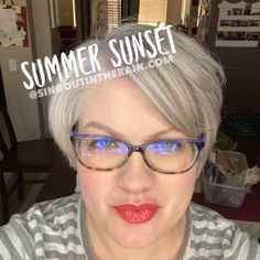 Summer Sunset LipSense by SeneGence is a warm color. You can view it on people, look at combos or comparisons or even in a collage.  However, nothing rivals seeing it on a real person.  Click to purchase yours NOW!  #lipsense #senegence