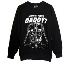 Darth Vader Star Wars Daddy Sweatshirt (2.965 ARS) ❤ liked on Polyvore featuring tops, hoodies, sweatshirts, sweaters, shirts, star wars darth vader shirt, darth vader shirt, checked shirt, checkerboard shirt and darth vader sweatshirt