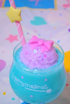 Image discovered by rina ☆≡. Find images and videos about pastel on We Heart It - the app to get lost in what you love. Milk Shakes, Yummy Drinks, Yummy Food, Kawaii Dessert, Candy Pop, Cute Desserts, Aesthetic Food, Candyland, Cute Food
