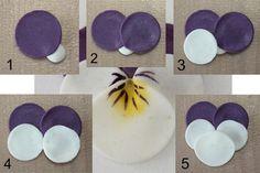 Wonderful DIY Pretty Polymer Clay Pansy