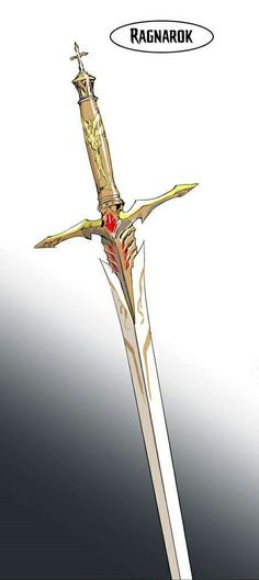 Noblesse - The Lord of Noble's Soul Weapon, Ragnarok (copied from mangahere.com)