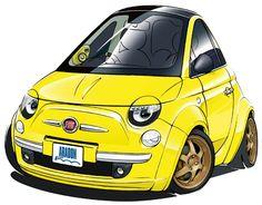 Fiat イラスト