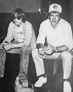 Rare and beautiful celebrity photos | Mark Hamill and Harrison Ford