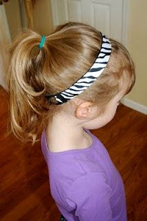 Ribbon Headbands - with child and adult sizing